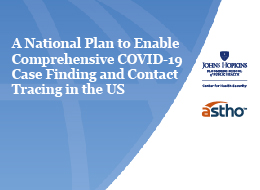 Lectura Recomendada: A National Plan to Enable Comprehensive COVID-19 Case Finding and Contact Tracing in the US
